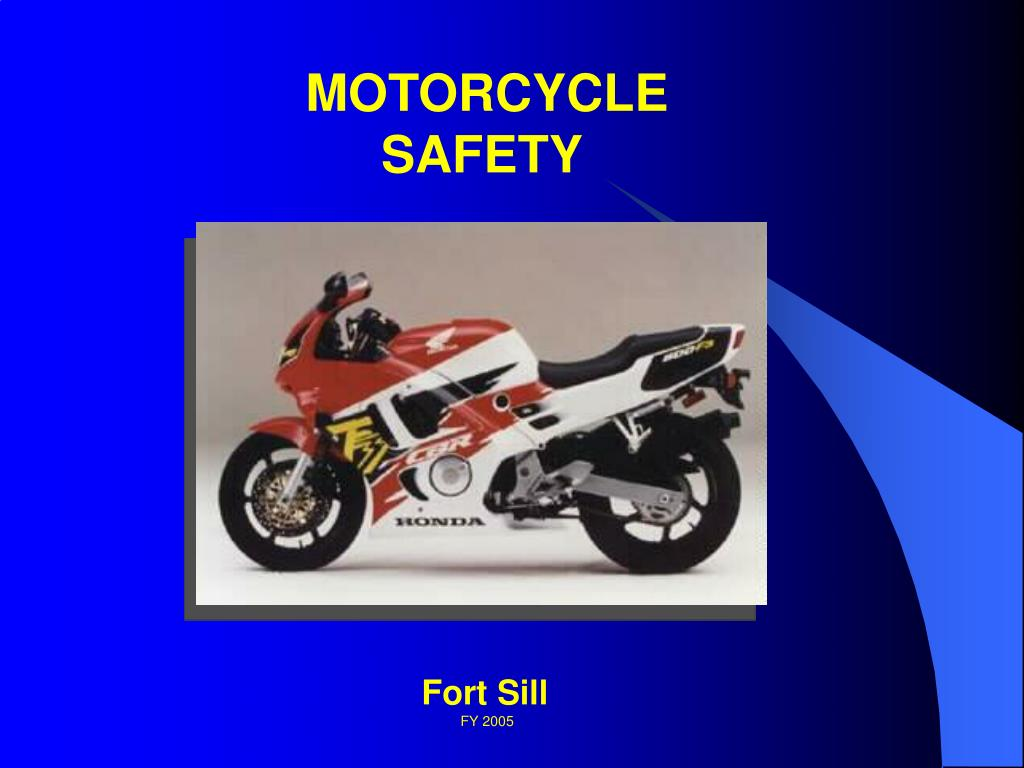 Ppt motorcycle safety powerpoint presentation id:1308146.