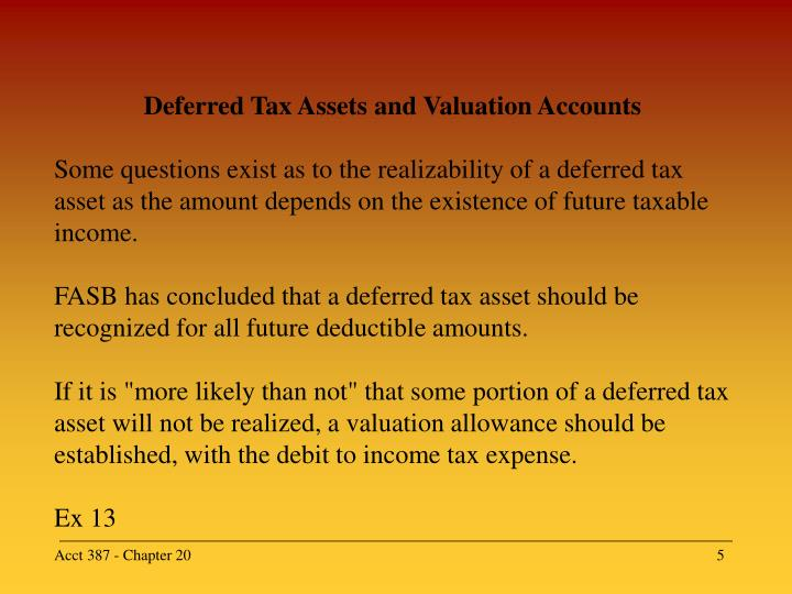 deferred taxes Deferred tax is a non-cash item so it has to be added back but according to the cfai material adding/subtracting requires special attention because it is an caused by the difference in the timing of.