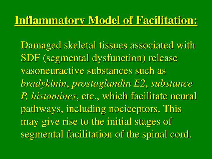 Inflammatory Model of Facilitation: