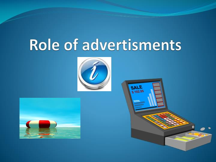Role of advertisments