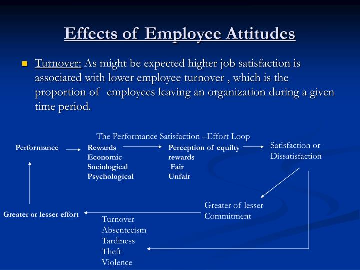 Effects of Employee Attitudes