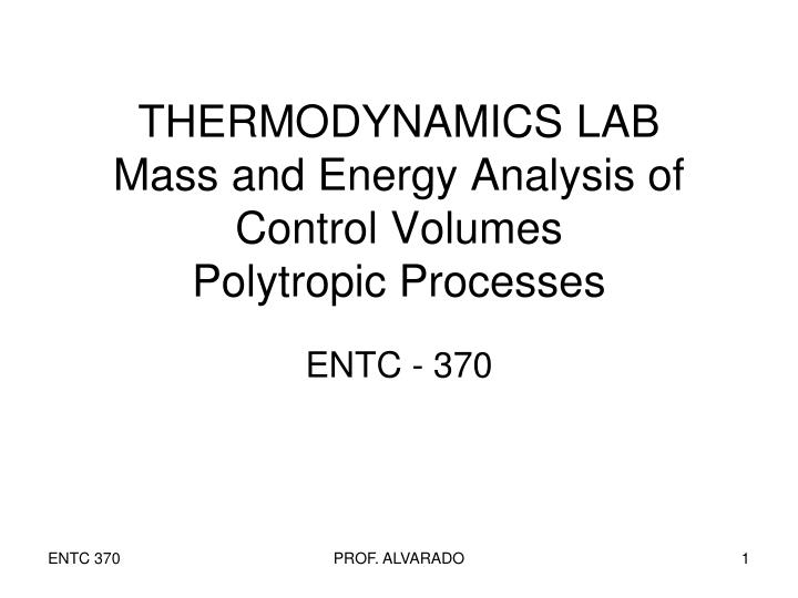 thermodynamics lab essay Laboratory experiment that involves measuring the tension in a rubber band as a function of temperature and extension, using a space heater to change the temperature of the rubber band 6.