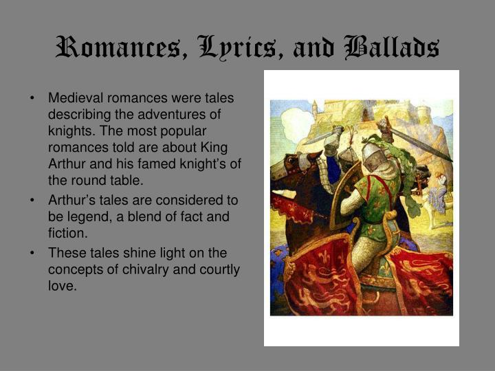 Romances, Lyrics, and Ballads