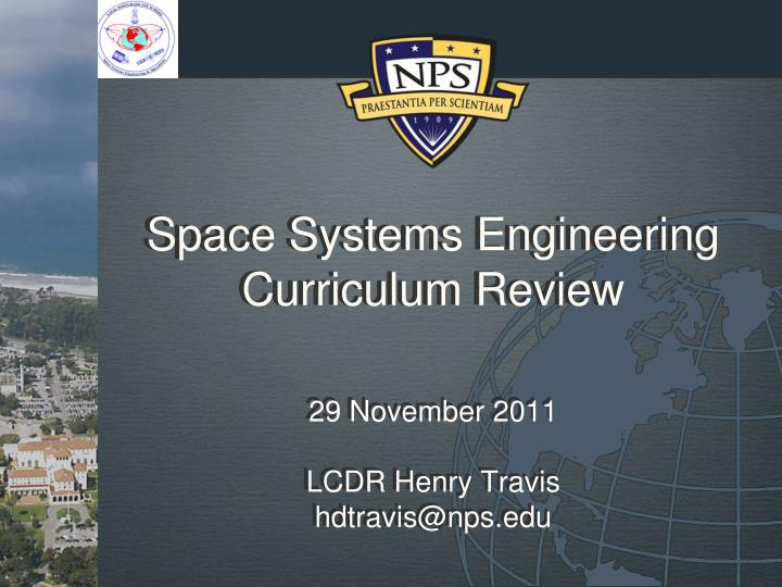 space systems engineering curriculum review n.