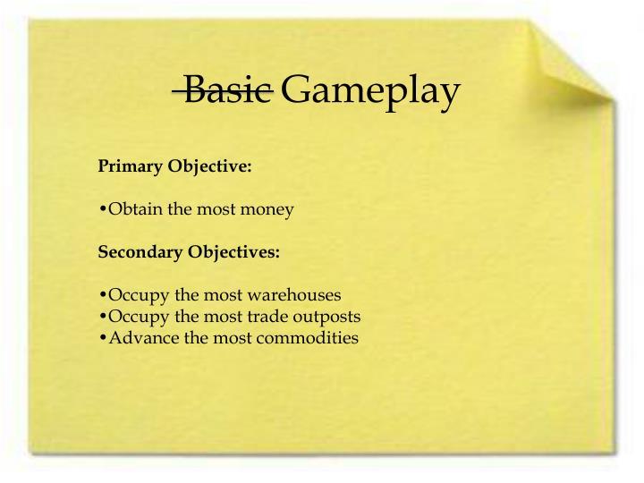 Basic gameplay