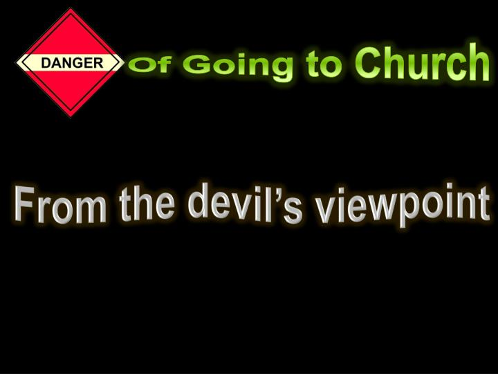 Of Going to Church