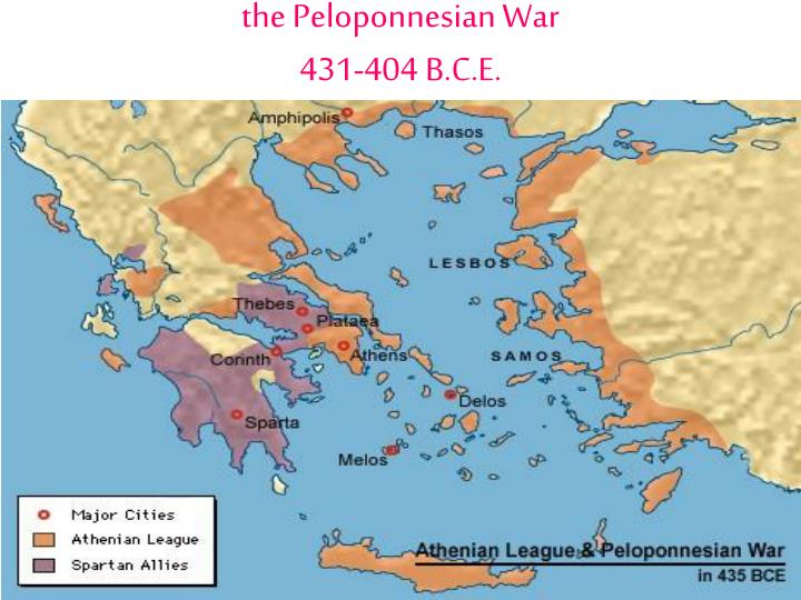 a brief history of the peloponnesian war in 431 bc