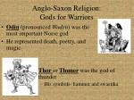anglo saxon religion gods for warriors1