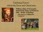 unifying forces alfred the great and christianity3