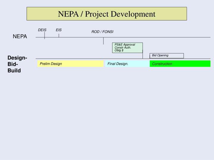 NEPA / Project Development