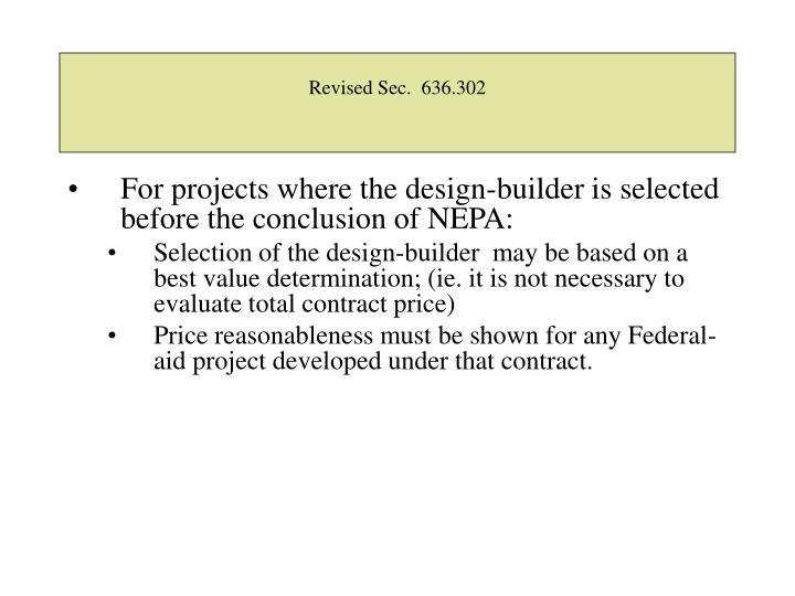 Revised Sec.  636.302