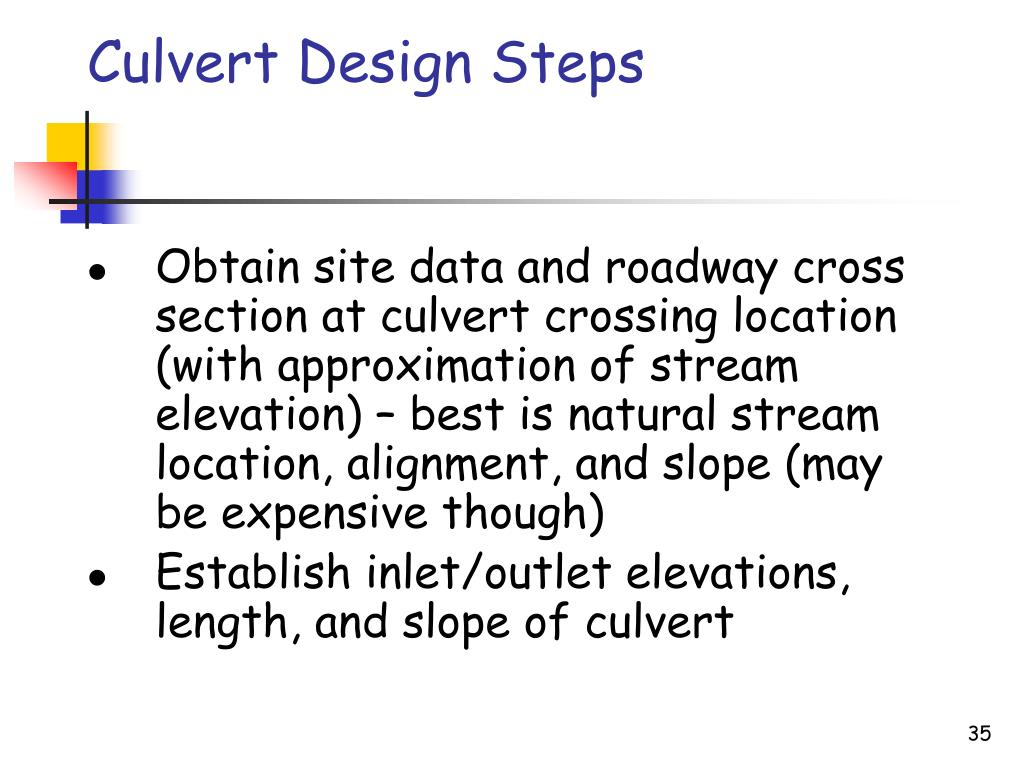 PPT - Design of Open Channels and Culverts PowerPoint