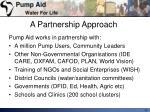 a partnership approach