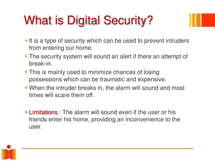 What is digital security