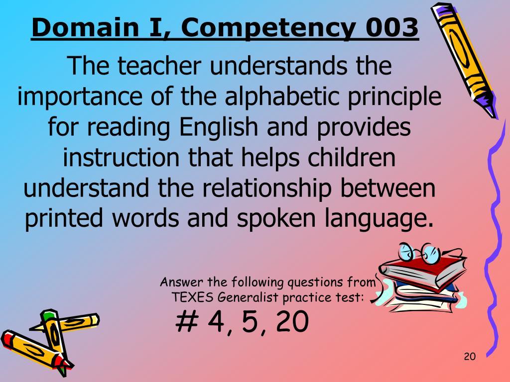 PPT - English Language Arts & Reading (EC-4) PowerPoint Presentation