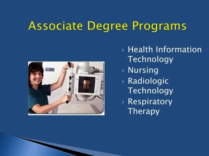 Associate Degree Programs