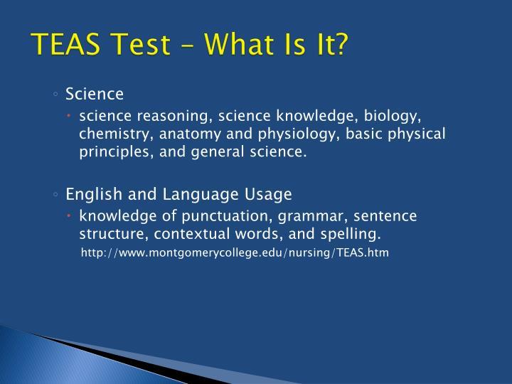 TEAS Test – What Is It?