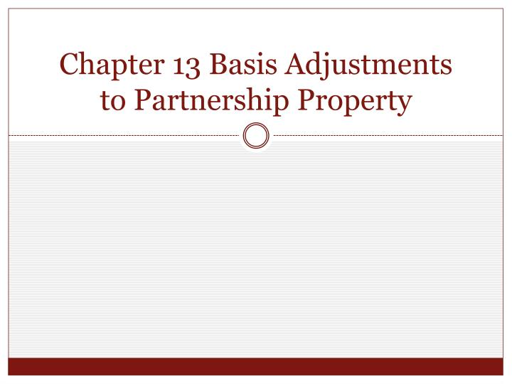 basis adjustment solution On the basis of the data gathered from the first stability fee adjustment, the risk and economic teams will lead an effort for constructing a transparent plan for stability fee adjustments in.