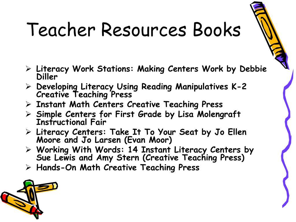 PPT - Literacy Centers in Kindergarten Classroom PowerPoint