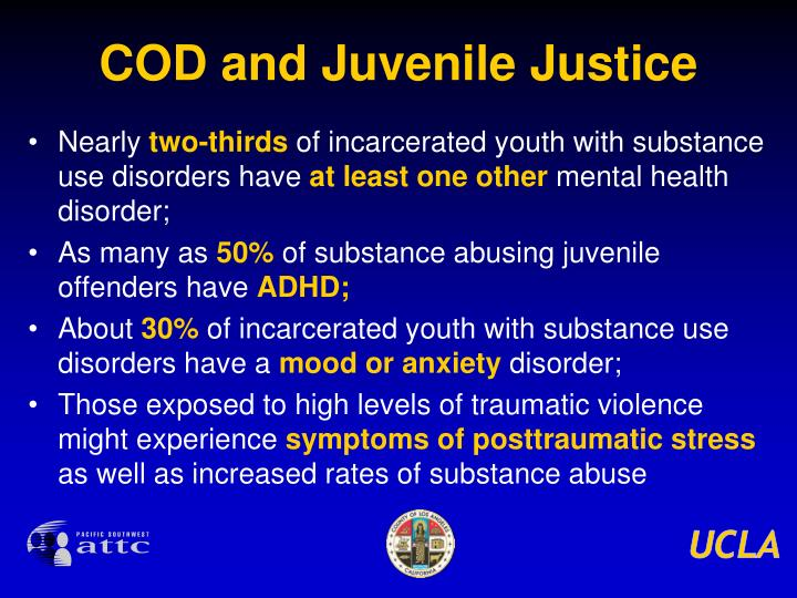 COD and Juvenile Justice