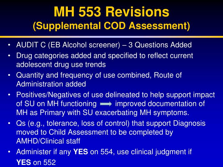 MH 553 Revisions