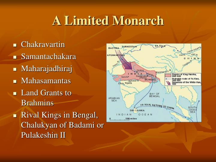 A limited monarch