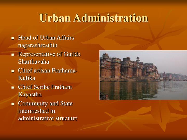Urban Administration