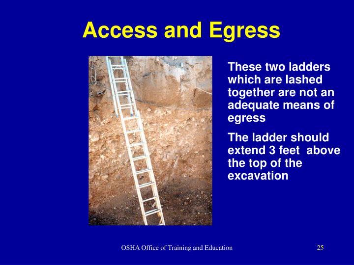 Access and Egress