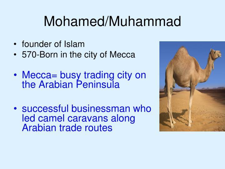 Mohamed/Muhammad