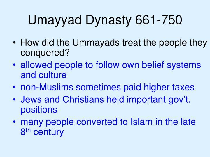 Umayyad Dynasty 661-750