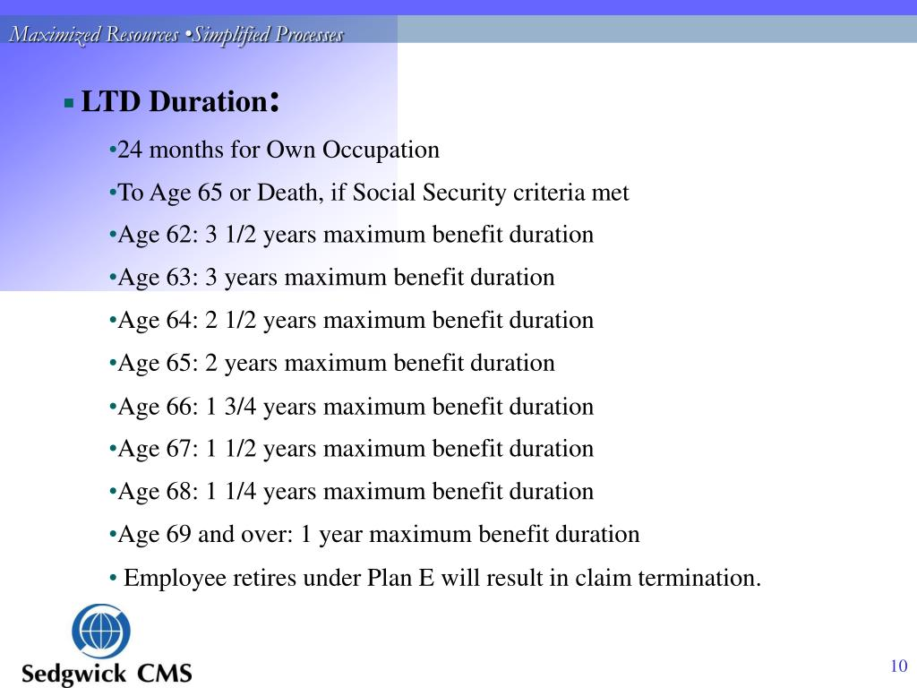 PPT - County of Los Angeles Long Term Disability Benefits