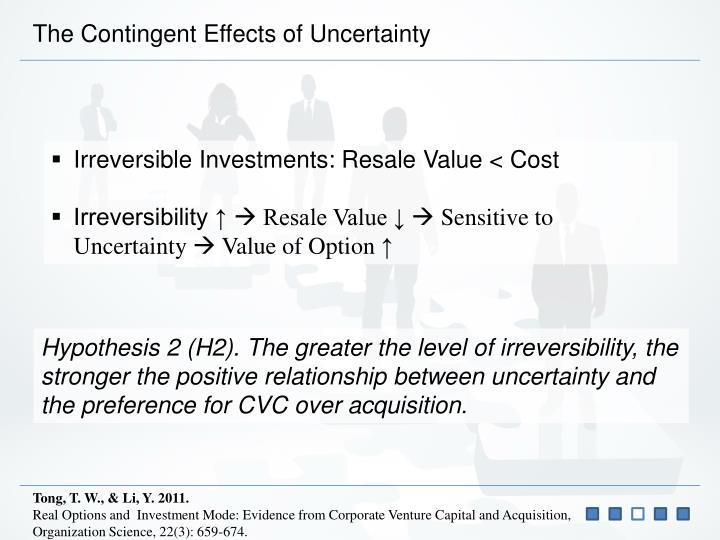 The Contingent Effects of Uncertainty