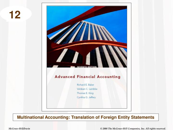 accounting in multinational corporation Answer to 5 what are the major problems caused by worldwide accounting diversity for a multinational corporation 6 what are the.