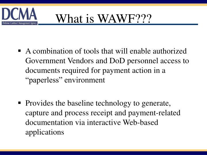 What is WAWF???