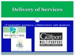 delivery of services1