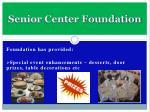senior center foundation11