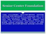 senior center foundation4