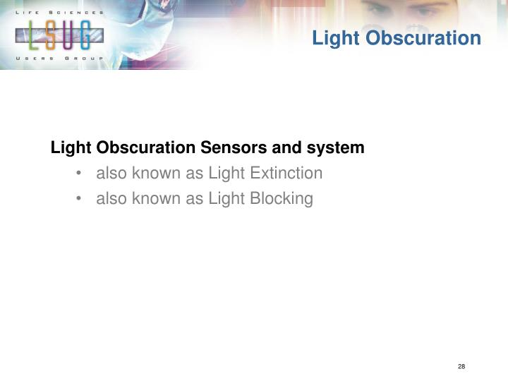 Light Obscuration