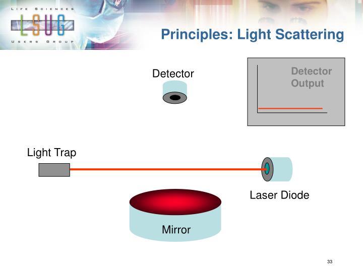 Principles: Light Scattering