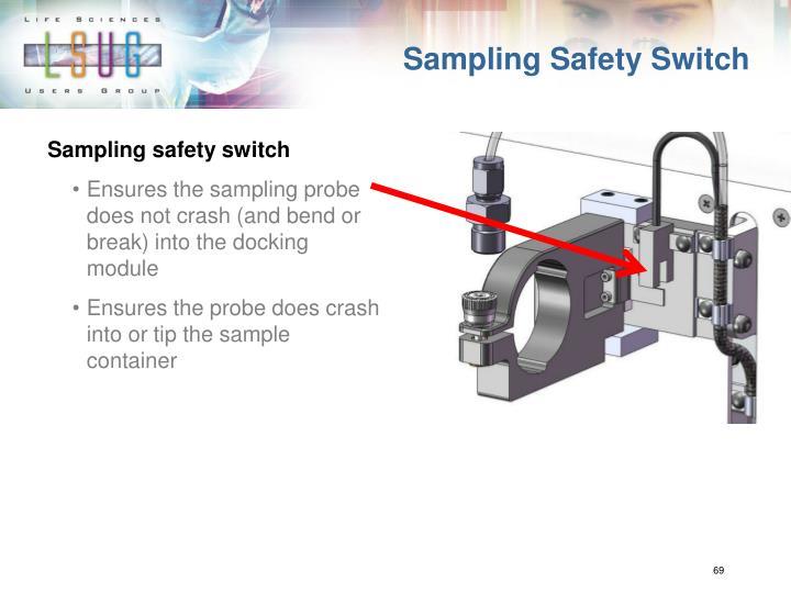 Sampling Safety Switch