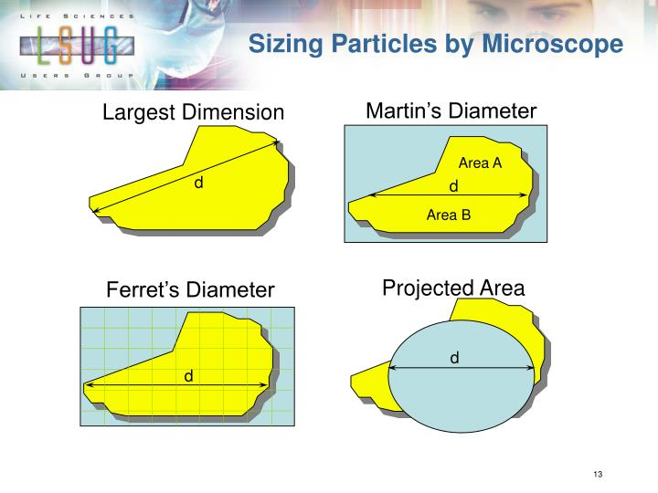 Sizing Particles by Microscope
