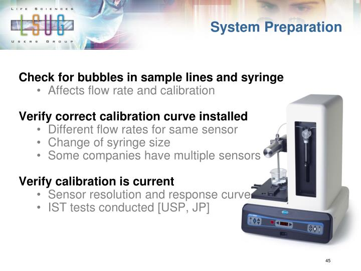 System Preparation