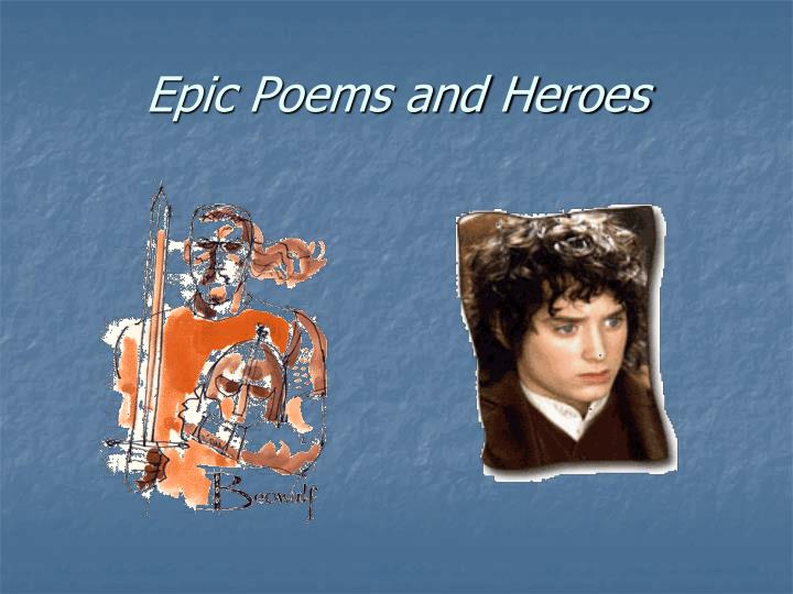 epic poems and heroes n.