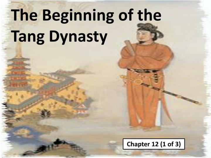 the beginning of the tang dynasty n.