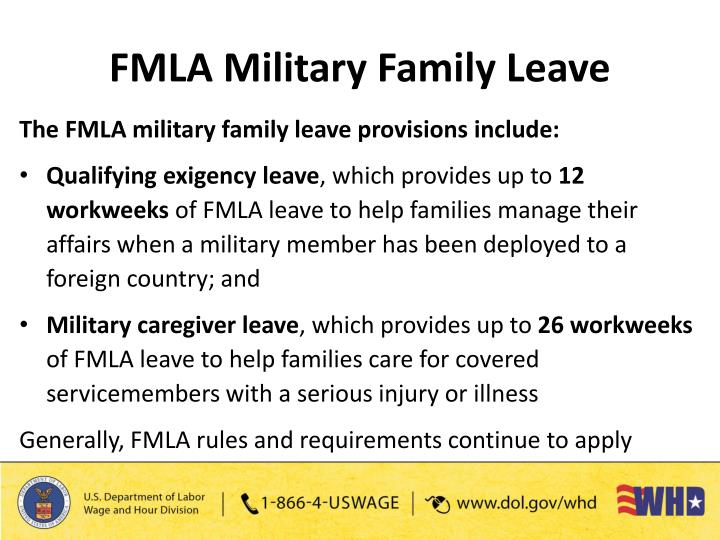 a description of the provisions of the fmla act Though this sounds simple, fmla leave act and cfra issues are among the  most litigated  the same eligibility requirements also apply to the federal fmla.