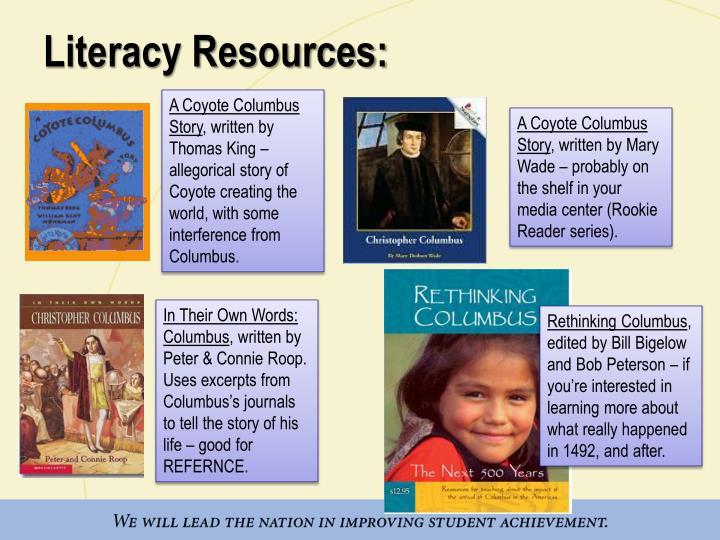 Literacy Resources: