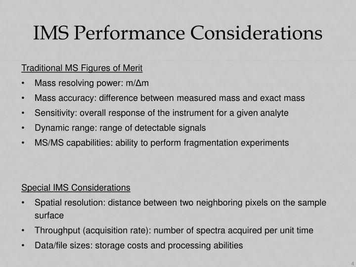 IMS Performance Considerations