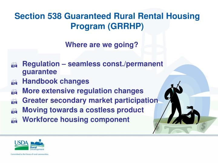 Section 538 Guaranteed Rural Rental Housing Program (GRRHP)