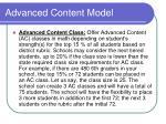advanced content model1
