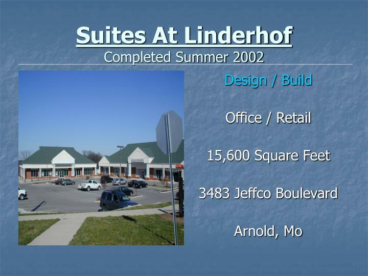 Suites At Linderhof